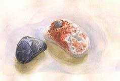 Stones of seashore Royalty Free Stock Image