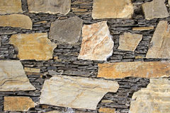Stones and Slabs Mosaic Stock Images
