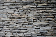 Stones, slate. Wall, background Royalty Free Stock Photos