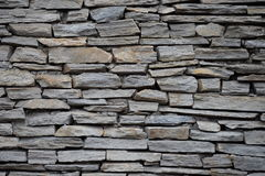 Stones, slate. Wall, background Royalty Free Stock Image