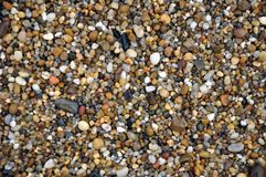 Stones. Small stones in the Atlantic Ocean stock photography