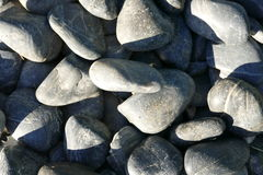 Stones. Soft stones in a pile Royalty Free Stock Photo