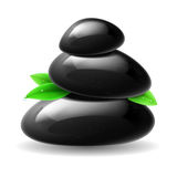 Stones spa Royalty Free Stock Photo