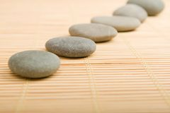 Stones for spa massage Stock Photography