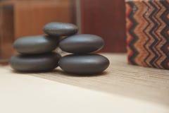 Stones for spa procedure Stock Photo