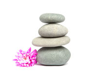 Stones for spa therapy Stock Photos