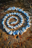 Stones Spiral Royalty Free Stock Images