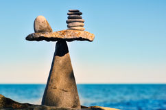 Stones Spiral Royalty Free Stock Photography