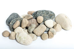 Stones. A stack of bright stones Stock Images