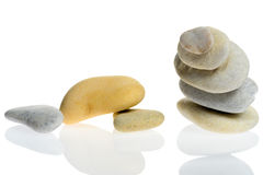 Stones stacked Royalty Free Stock Images