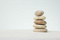 Stones stacked. Royalty Free Stock Photo