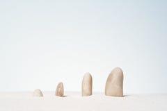 Stones stacked. Stock Photo