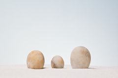 Stones stacked. Royalty Free Stock Images