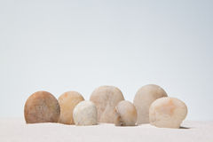 Stones stacked. Stock Images