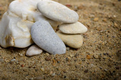 Stones stacked Royalty Free Stock Image