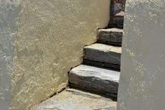 Stones staircase. Royalty Free Stock Photo