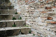 Stones stairway Royalty Free Stock Photos