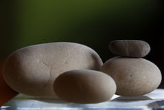 Stones. Still life with stacked stones Royalty Free Stock Photography