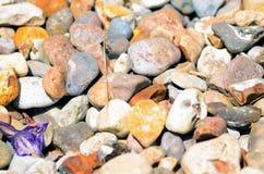 Stones. Stone background is taken outdoors Royalty Free Stock Photos