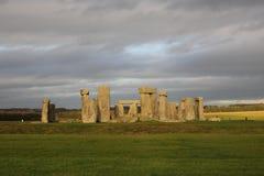 The stones of Stonehenge, England.  royalty free stock photo