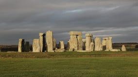 The stones of Stonehenge, England.  stock photography