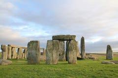 The stones of Stonehenge, England.  stock image