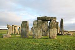 The stones of Stonehenge, England.  royalty free stock images