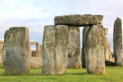 The stones of Stonehenge, England.  royalty free stock photography