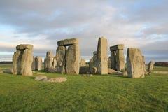 The stones of Stonehenge, a prehistoric monument in Wiltshire,. England. UNESCO World Heritage Sites stock photography