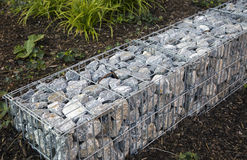 Stones in storm water drainage Stock Images
