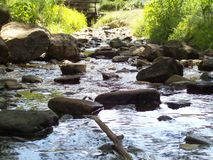 Stones in the Stream Stock Photography