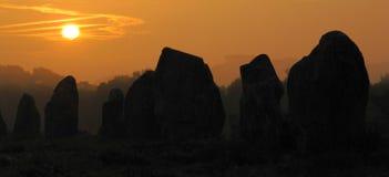 Stones, Sunrise, Sunset Royalty Free Stock Photography