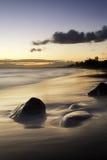 Stones at sunset Stock Photo