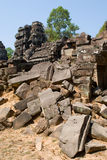 Stones in Ta Prohm Royalty Free Stock Image