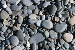 Stones texture. A shot of stones on a beach of Alaska Royalty Free Stock Images