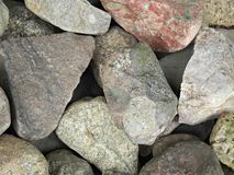 Stones for Texture Royalty Free Stock Photos
