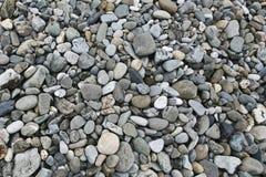Stones. Texture of rocks and pebbles beach Stock Photos