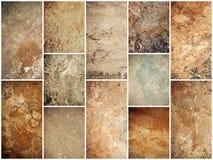Stones texture set Stock Photography