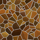 Stones texture in shades of brown Royalty Free Stock Photo