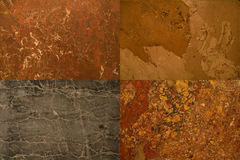 Stones textures collection Stock Photo