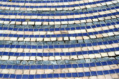 Stones and tiles Stock Images