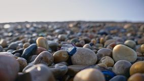 From Stones to sand. Stones on a beach in Ireland Stock Photos