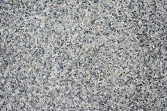 Stones on top of cement block. Stock Photo