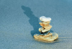 Stones tower. Zen symbol of personal balance Stock Photos