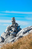 Stones trail Stock Image