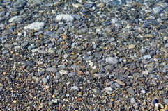 Stones under the Sea Water Royalty Free Stock Photography