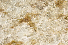 Stones under transparent water for use as  background Stock Photos