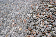 Stones under water. Stones recover by water Stock Photography