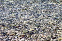 Stones under the water Stock Image