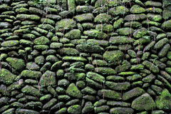 Stones wall Royalty Free Stock Photography